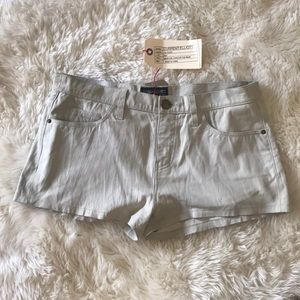 Current Elliot Leather Shorts - New with tags
